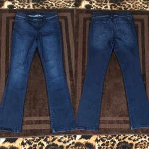 """Ann Taylor The Boot Modern Fit Size 8 x 33"""" Inseam"""